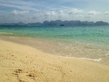 Beach. @ Krabi  Thailand Royalty Free Stock Image