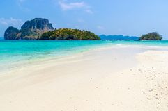 Beach in Krabi Thailand Stock Photography