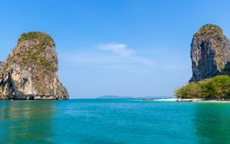Beach in Krabi Thailand Stock Images