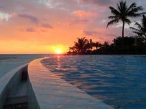 Beach on Kuredu island - Islands Madlives royalty free stock images