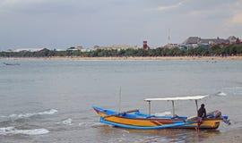 Beach of Kuta, island Bali Stock Photography