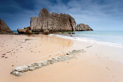 Beach of La Arnia Stock Photography