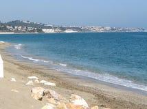 Beach at La Cala De Mijas Royalty Free Stock Photography