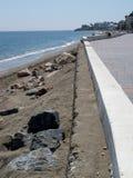 Beach at La Cala De Mijas Stock Photography