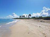 La habana beach. Beach in la habana cuba Stock Photography