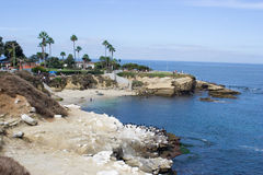 Beach in La Jolla Royalty Free Stock Images