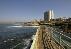 Beach at La Jolla, San Diego Stock Photos