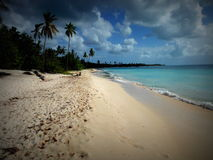 Beach on La Romana Stock Photography