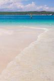 Beach and lagoon Stock Photos