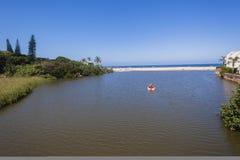 Beach Lagoon Ocean Holidays Stock Photo