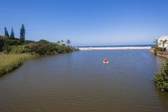 Beach Lagoon Ocean Holidays Royalty Free Stock Photo