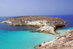 beach Lampedusa Royalty Free Stock Images