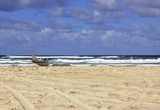 Beach landing Fraser Island Stock Photography