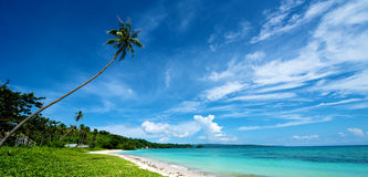 Beach Landscape in Boracay Stock Image