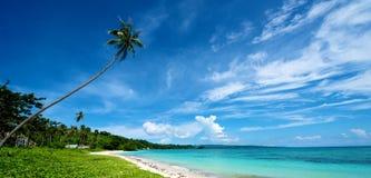 Beach Landscape in Boracay Stock Image