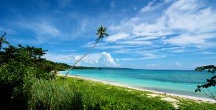 Beach Landscape in Boracay Stock Photo
