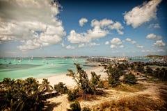 Beach Landscape Stock Photography