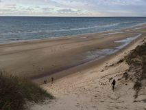 Beach landscape Royalty Free Stock Photo