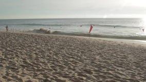 Beach landscape in Phuket stock video