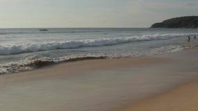 Beach landscape in Phuket stock video footage