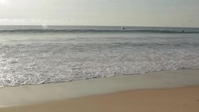 Beach landscape in Phuket stock video footage