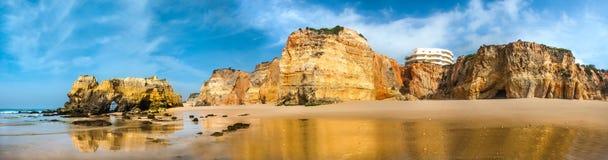 Beach landscape-Praia da rocha Royalty Free Stock Photography
