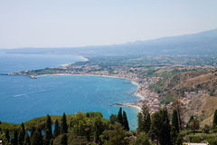 Beach landscape of Sicily Royalty Free Stock Image
