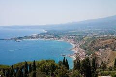 Beach landscape of Sicily. A Beach landscape of Sicily royalty free stock image