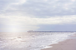 Beach landscape in soft colors. Royalty Free Stock Photos