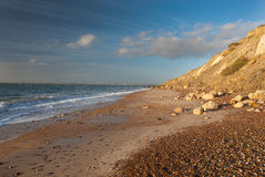 On the beach. Landscapes with the sea and rocks Stock Images