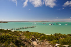 Beach at Langebaan Lagoon - West Coast National Park, South Africa Stock Photos