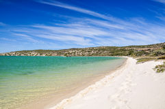 Beach at Langebaan Lagoon - West Coast National Park, South Africa Stock Images