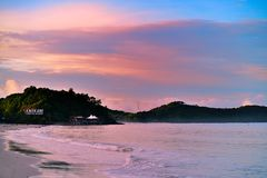 Beach of Langkawi Royalty Free Stock Images