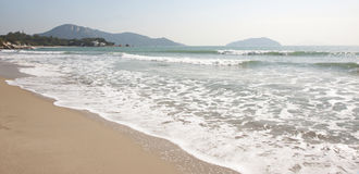 Beach on Lantau Island Stock Photos