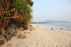 Beach on Lantau Island, Hong Kong Stock Photo