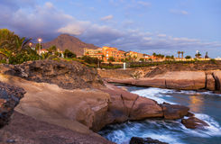 Beach Las Americas in Tenerife island - Canary Stock Photography