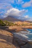 Beach Las Americas in Tenerife island - Canary stock image