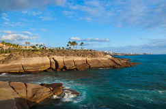 Beach Las Americas in Tenerife island - Canary Royalty Free Stock Photos