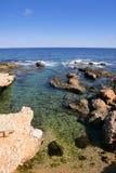 Beach Las Rotas in Spain Alicante Mediterran Stock Photography