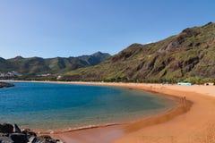 Beach Las Teresitas, Tenerife, Spain Stock Photography