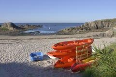 Beach at Le Pouliguen Stock Photo