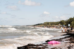 Beach leba Stock Image