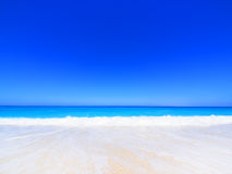 Beach on Lefkada, Greece Stock Images