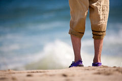 Beach legs Royalty Free Stock Photos