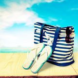 Beach leisure Stock Images