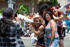 Beach-Lesbier und homosexuelle Stolz-Parade 2012 Lizenzfreies Stockbild