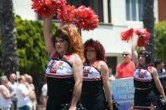 Beach-Lesbier und homosexuelle Stolz-Parade 2012 Lizenzfreies Stockfoto