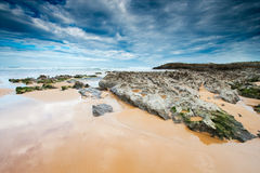 Beach of Liencres Royalty Free Stock Photo