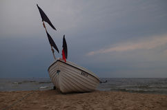 Beach life at the baltic sea Stock Photo