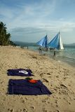 Beach Life Boracay Island Philippines Royalty Free Stock Photography